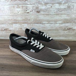 Vans Classic Low Top Dual Color Black Gray Size 12